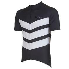 Aston Black Performance Jersey from DannyShane   Designer Cycling Apparel