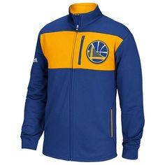 Golden State Warriors adidas Tip-Off Jacket - Royal