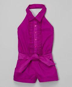 Look what I found on #zulily! Violet Halter Romper - Infant, Toddler & Girls by Pink House #zulilyfinds