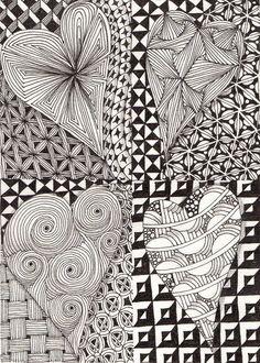 Zen Doodle Patterns, Doodle Art Designs, Zentangle Patterns, Mosaic Patterns, Doodle Art Drawing, Zentangle Drawings, Doodles Zentangles, Mandala Drawing, Basket Drawing