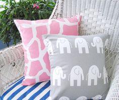 Pillows Pink Pillow Baby Nursery Baby Nursery by PillowsByJanet, $30.00