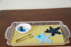 amazing list of montessori trays!  She goes through her trays week by week!