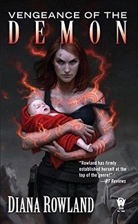 Review: 5 Stars for Vengeance of the Demon by Diana Rowland. onebooktwo.com