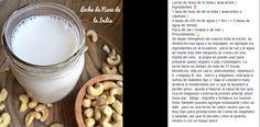 Lechada de nuez de la india / lechada de castañas de cajú / leche vegetal