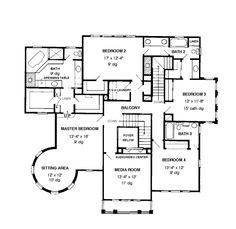 Tuscan Castle ~ 2nd floor plan | Dream Home Ideas | Pinterest ...