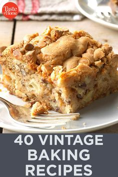 Our methods for making baked goods may have changed over the years, but vintage recipes still make some of the best treats imaginable! Retro Recipes, Bakery Recipes, Vintage Recipes, Dessert Recipes, Potluck Recipes, Unique Desserts, Unique Recipes, Chocolate Tres Leches Cake, Yummy Treats
