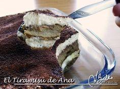 El Tiramisú de Ana Campoy (Crucero) en mi blog de recetas para la dieta Dukan.