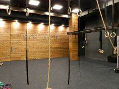 exposed brick gym - Google Search