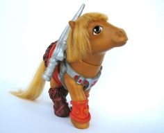 He Man My Little Pony.... this would've been the best gift for me AND Ben!!