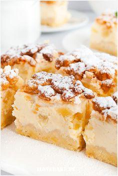 Sernik z ananasem - I Love Bake Christmas Appetizers, Cheesecakes, Sweet Tooth, Baking, My Love, Recipes, Pineapple, Treats, Christmas Finger Foods