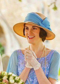 Mary on Downton Abbey Season 3