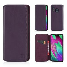 Real Leather Design with Card Slot 32nd Classic Series 2.0 Fan Edition Real Leather Book Wallet Case Cover for Samsung Galaxy S20 FE 5G Navy Blue Magnetic Closure and Built in Stand