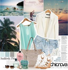"""""""Suddenly, this summer."""" by ashleypetrova on Polyvore"""