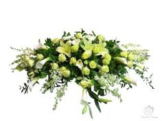 Funeral cascade - Flowers and Blossoms Casket Sprays, Sympathy Flowers, Funeral Flowers, Herbs, Wreaths, Blossoms, Plants, Flowers, Door Wreaths