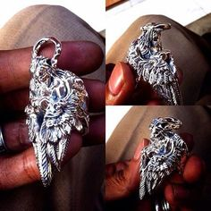 Angelic Silver Ring.