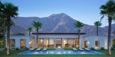 A new development of luxury homes in South Palm Springs called Monte Sereno brings these magnificent new designs to the community.
