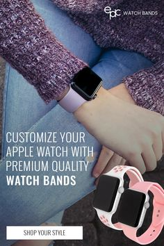 Discover a huge selection with high quality & affordable Apple Watch bands. Epic Apple Watch bands, straps and accessories are compatible with all Apple Watch Series 5 - sizes & Apple Watch Accessories, Iphone Accessories, Apple Watch Series 1, Apple Watch Bands, Things To Buy, Girly Things, Stuff To Buy, Apple Products, Types Of Fashion Styles