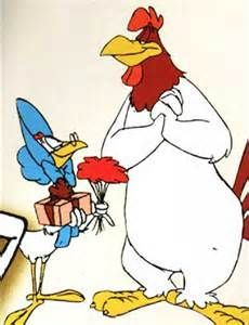 Miss Prissy (Looney Tunes), the widowed hen who has a crush on Foghorn Leghorn.