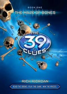 4/5 stars-the kidlet & I very much enjoyed the 39 Clues series.