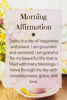 Positive Affirmations - Quote Positivity - Positive quote - Positive Affirmations The post Positive Affirmations appeared first on Gag Dad. Daily Positive Affirmations, Positive Affirmations Quotes, Morning Affirmations, Affirmation Quotes, Positive Thoughts, Positive Vibes, Healthy Affirmations, Positive Quotes For Life, Mantra