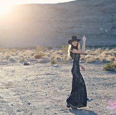 Chet Dress on the beautiful Natalie Suarez