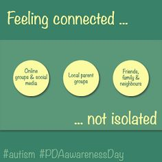 #PDAAwarenessDay & communities of support #autism