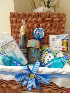 My Sons 18th Birthday Hamper Homemade Presents Present Ideas