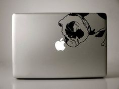 Brit the English Bulldog Decal Apple Macbook by IvyBee on Etsy, $12.99