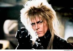 Jareth.  You have no power over me.   (Yet, I would have stayed if I'd been in that situation.)