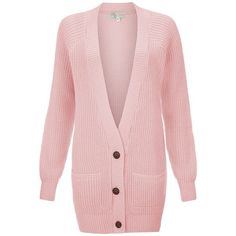 Cameo Rose Light Pink Green Fisherman Knit Cardigan ($14) ❤ liked on Polyvore featuring tops, cardigans, sweaters, pink, light pink top, long sleeve knit cardigan, long sleeve knit tops, long sleeve cardigan and green cardigan