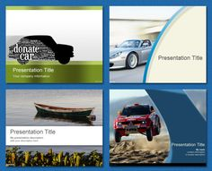 #PowerPoint #Template - Transportation