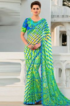 Indian wedding saree online, Multi Color brasso indian sari, now in shop. Andaaz Fashion brings latest designer ethnic wear collection in US