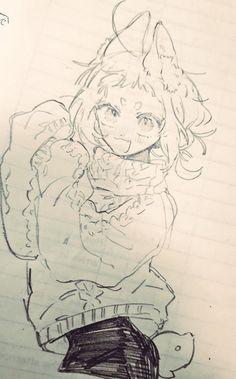Sketchbook Inspiration, Art Sketchbook, Anime Poses Reference, Art Reference, Character Design Animation, Character Art, Pretty Art, Cute Art, Manga Art