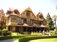 The Winchester manion. The mother load of all victorian houses. Taken by dubiousdowager at deviantart.