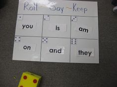 Mrs. Albanese's Kindergarten Class: Fun and easy Sight Word games