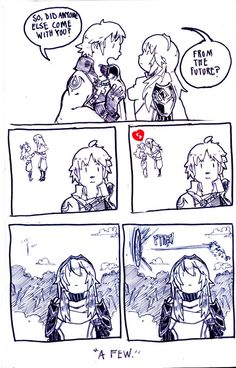"""""""A Few"""" Lucina and Chrom"""