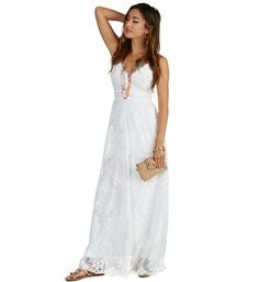 Pre-Order: The Heavy In Your Arms Lace Maxi Dress