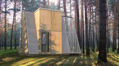 a frame tiny house concept...neat-o