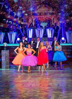 The Strictly Come Dancing Celebrity Dancers Perform On The Results Show At Blackpool In Strictly Come Dancing 2013