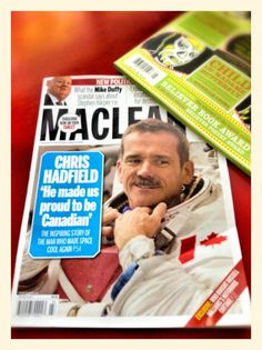 So proud of our Canadian Commander Chris Hadfield