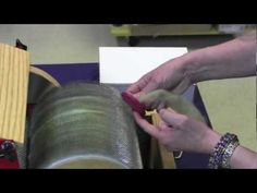 drum carding video - great tips
