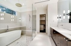 Modern Master Bathroom - Found on Zillow Digs