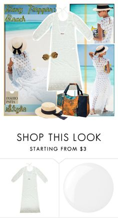 """""""Beach Style: Outfit de verano"""" by robanav ❤ liked on Polyvore featuring Essie, women's clothing, women, female, woman, misses, juniors and polyvorianpeople"""