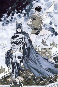 Batman & Robin by Tony Daniel