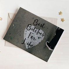 Best Bitches For Life Card - BBFL #papergoods #cards @EtsyMktgTool http://etsy.me/2i0kBql