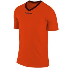 electric orange soccer top