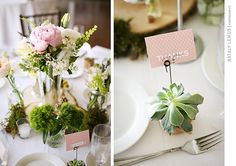 Hotel Maya Hotel Long Beach - Succulent Centerpieces- Photographed By Nataly Lemus Photography