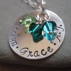 Hand Stamped Jewelry  The Classic hand stamped by JLynnCreations, $44.00