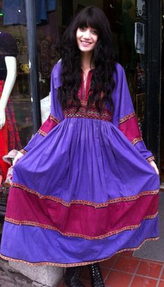 VTG 60s/70s Made in Afghanistan Boho Dress by FAROUTVINTAGE, $74.50