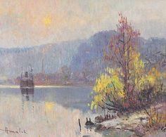Albert MALET (1905-1986) Painting, Painting Art, Paintings, Painted Canvas, Drawings